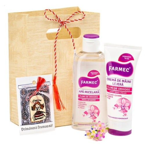 Coș cadou - Pink Mood 20CM1