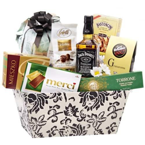 Coș cadou 19PB38 – Gentleman Gift