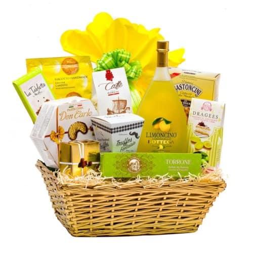 Coș cadou 19PB43 – Limon