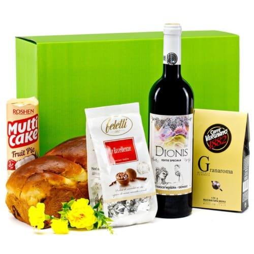 Coș cadou 19PB7 – Green Box