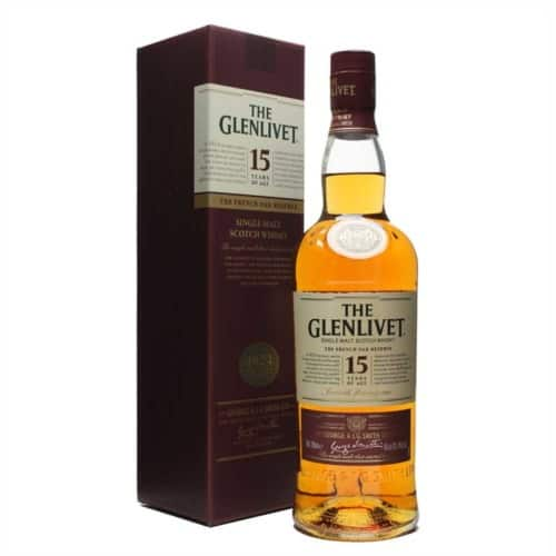 GLENLIVET 15 ANI FRENCH OAK RESERVE 700ML