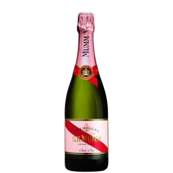 SAMPANIE MUMM CORDON ROUGE ROSE 750 ML