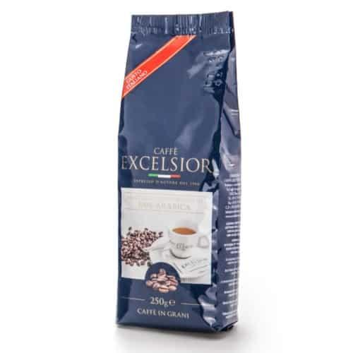 Cafea boabe Excelsior - Gusto Italiano, 100% Arabica, 250gr