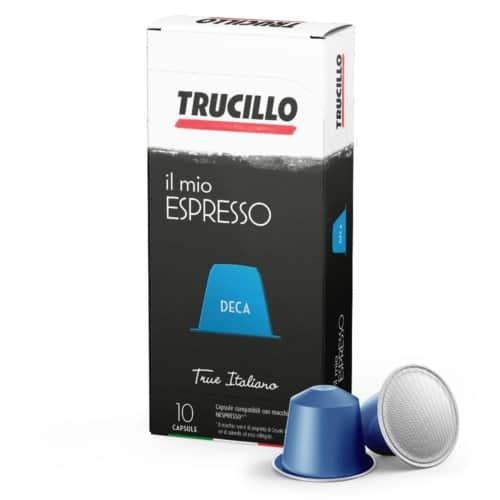 Capsule cafea Trucillo – Il Mio Espresso Deca, Compatibile Nespresso, 10 capsule, 55g