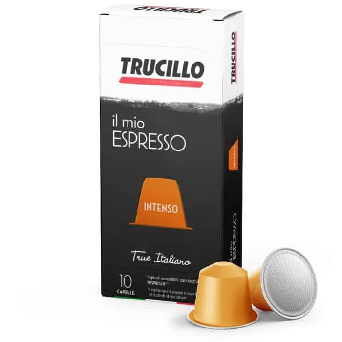 Capsule cafea Trucillo - Il Mio Espresso Intenso, Compatibile Nespresso, 10 capsule, 55g