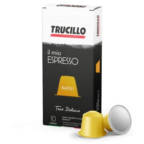 Capsule cafea Trucillo - Il Mio Espresso Napoli, Compatibile Nespresso, 10 capsule, 55g