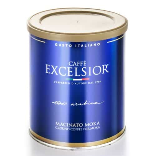 Cafea macinata Excelsior – Gusto Italiano, 100% Arabica, 250gr