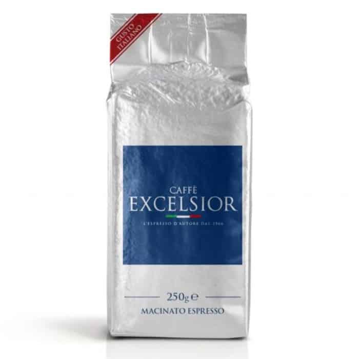 Cafea macinata espresso Excelsior – Gem Line, 60% Arabica, 250g