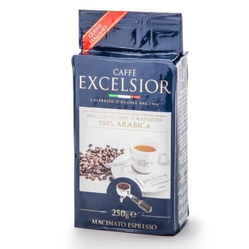 Cafea macinata espresso Excelsior - Gusto Italiano, 100% Arabica, 250gr
