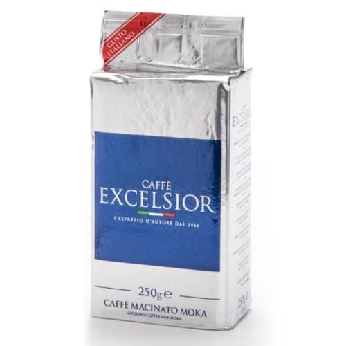 Cafea macinata moka Excelsior – Gem Line, 60% Arabica, 250g