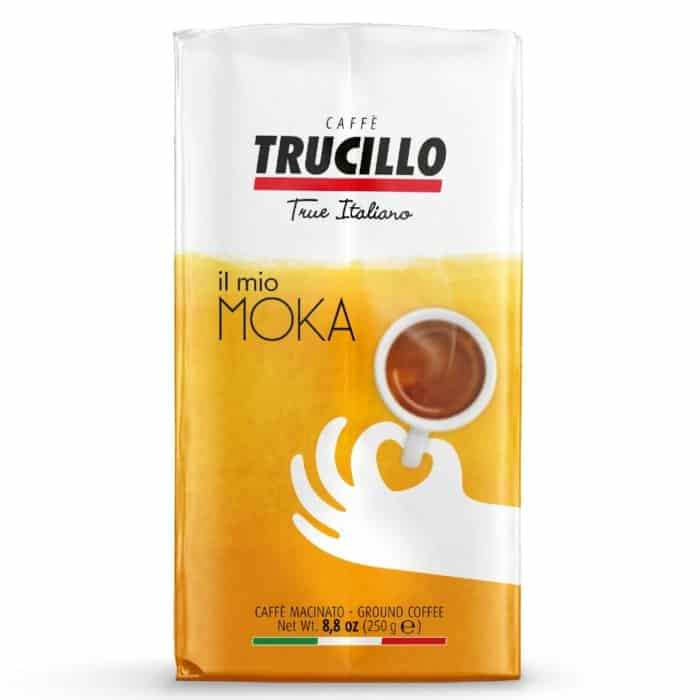 Cafea macinata Trucillo – Il Mio Caffe Moka, 70% Arabica, 250g