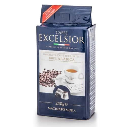 Cafea macinata moka Excelsior - Gusto Italiano, 100% Arabica, 250gr
